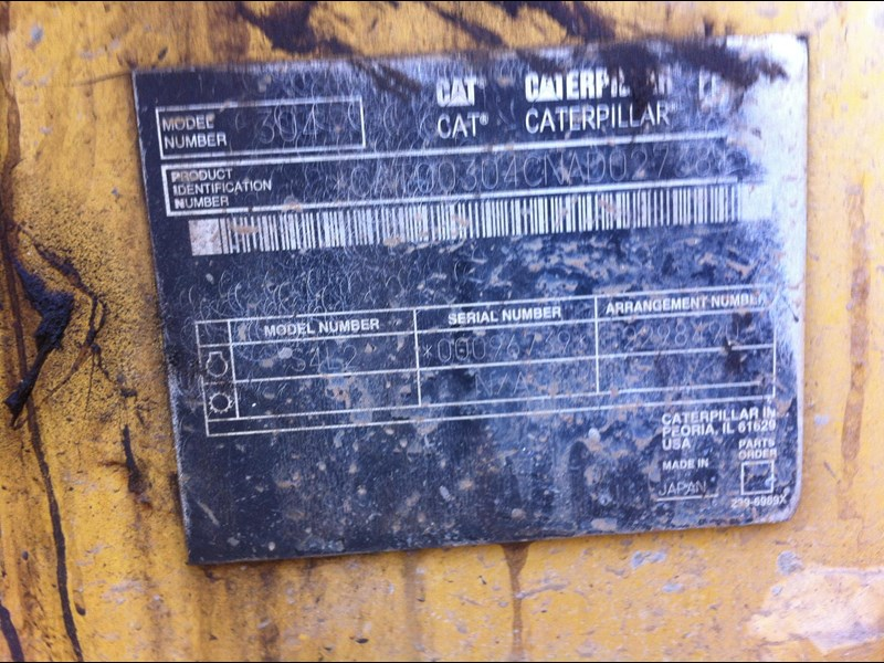 caterpillar cat 304cr 261888 003