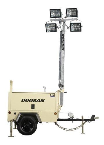 doosan l20-60hz lighting tower 269835 001