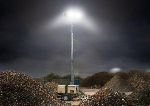 doosan lsv9-50hz-ce lighting tower 269813 007