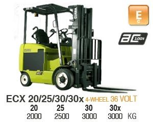 clark ecx30 electric forklift 270477 001