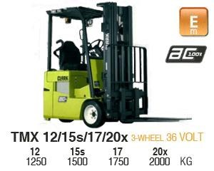 clark tmx18 electric forklift 270493 001