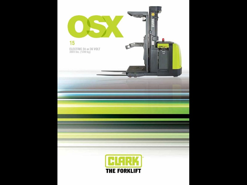 clark osx 15 electric reach truck 270510 003