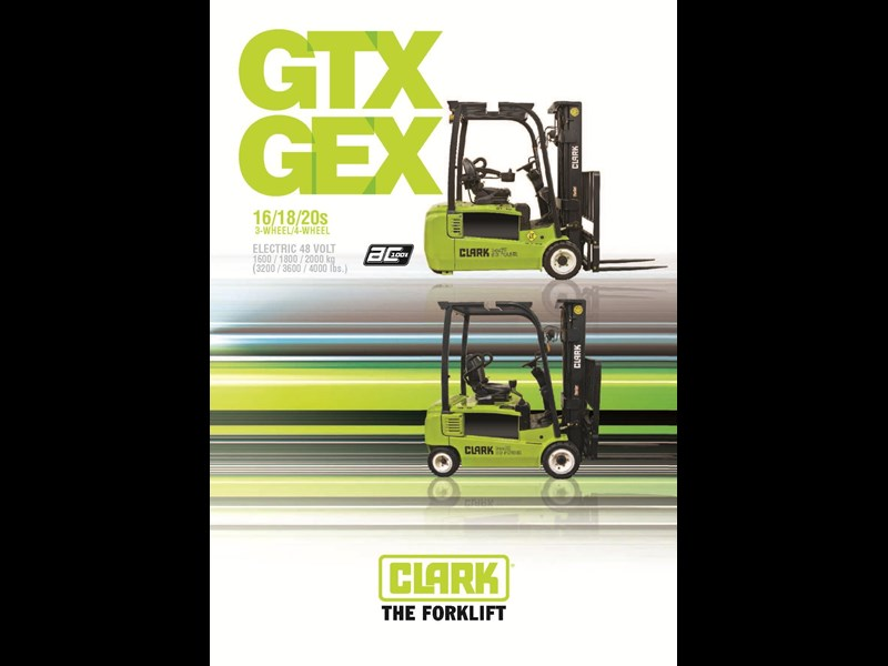 clark gex16 electric forklift 270479 003