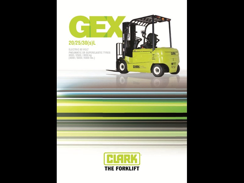 clark gex30l electric forklift 270486 003