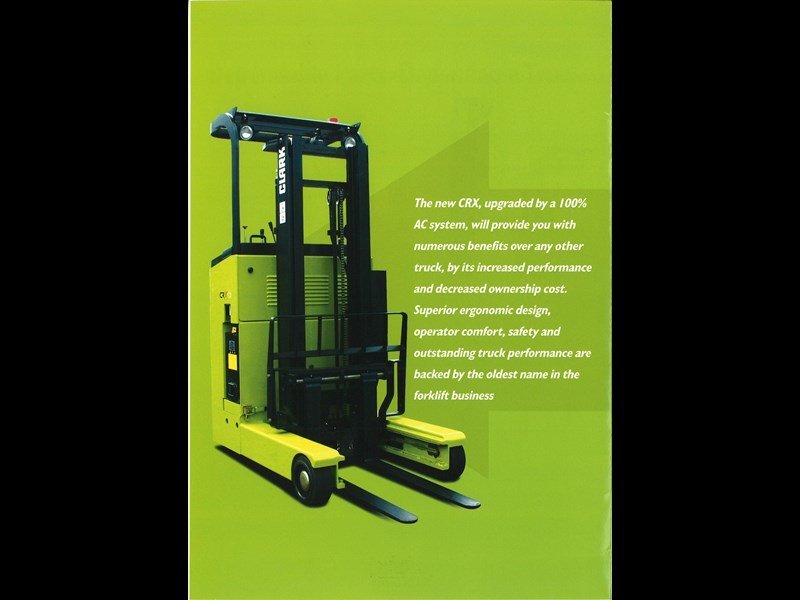 clark crx13 electric reach truck 270498 005