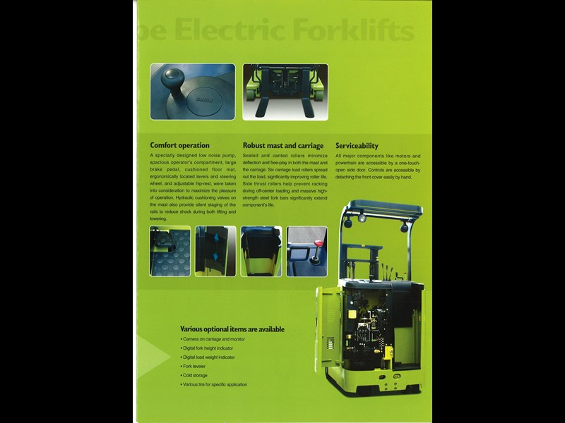 clark crx13 electric reach truck 270498 009