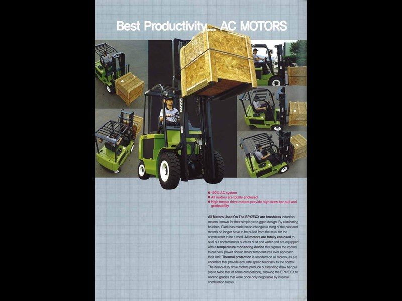 clark ecx30 electric forklift 270477 009