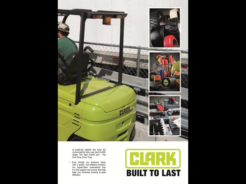 clark gex25 electric forklift 270483 015