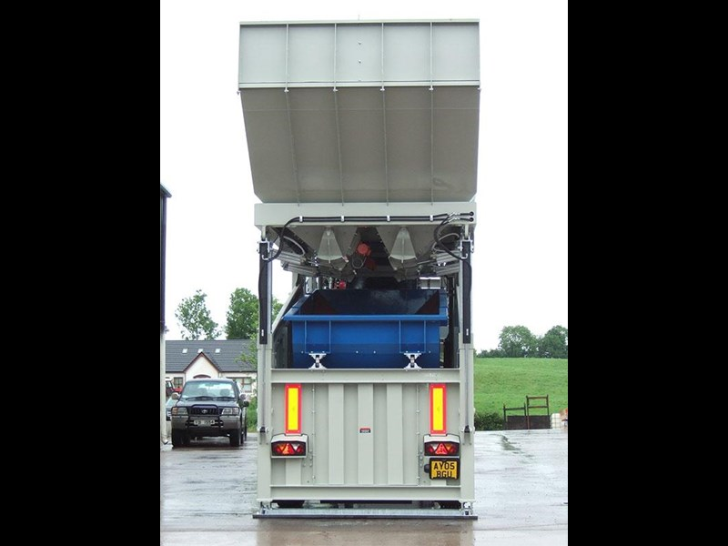 mccrory mcm-40 mobile concrete batching plant 272974 005