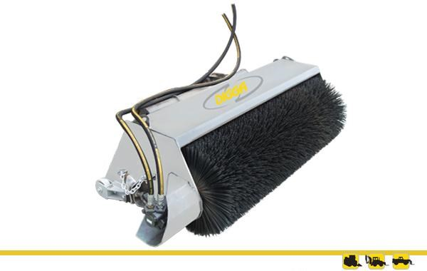 digga cleana open face bucket broom 273720 001