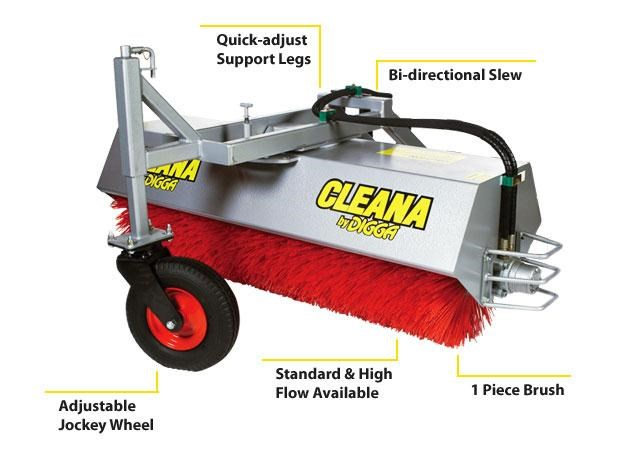 digga cleana angle broom 273726 001