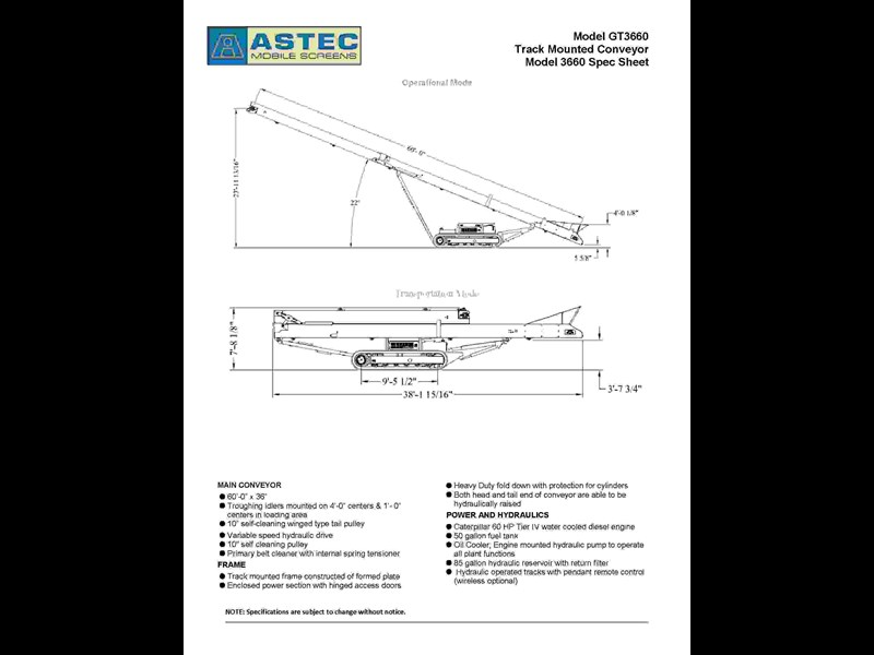 astec gt3660 track stacker 280719 005