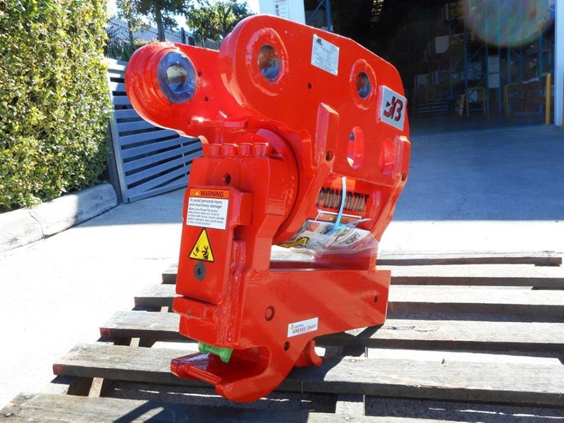 jb attachments u55, kx057 5ton+ excavators hydraulic power tilting quick hitch [jb055] [attbuck] 281478 009