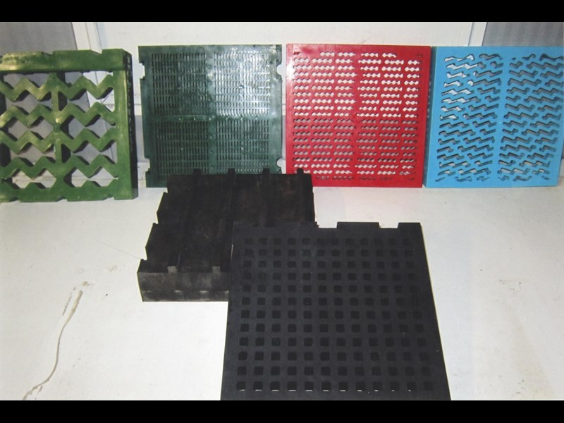 various wash screen segments - new 283000 001