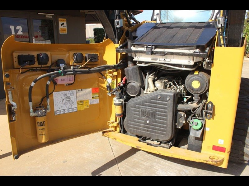 caterpillar 262c skid steer loader 283126 023