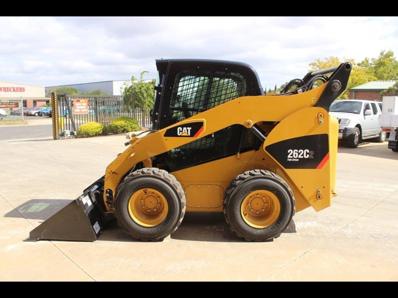 caterpillar 262c skid steer loader 283126 013