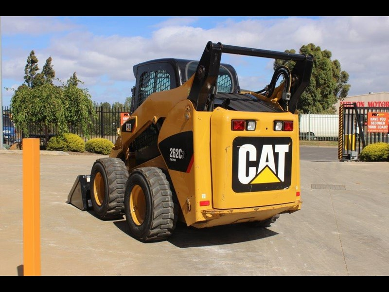 caterpillar 262c skid steer loader 283126 011