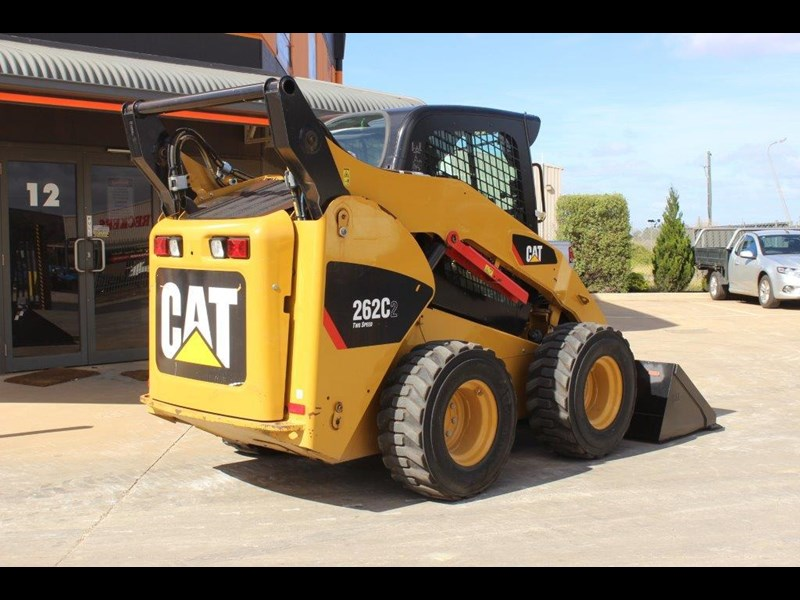 caterpillar 262c skid steer loader 283126 007