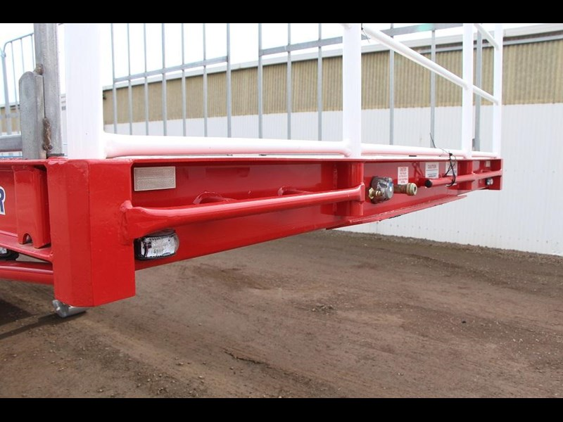 freighter 45ft drop deck trailer with rear hydraulic ramps 283022 014