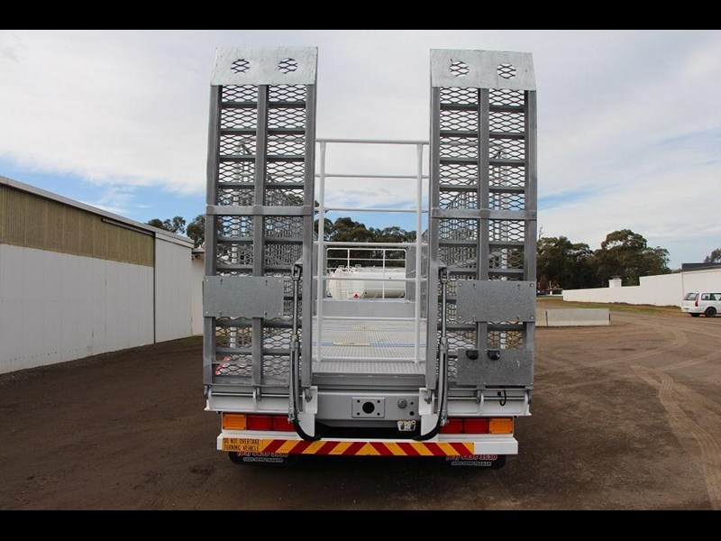 freighter 45ft drop deck trailer with rear hydraulic ramps 283022 006