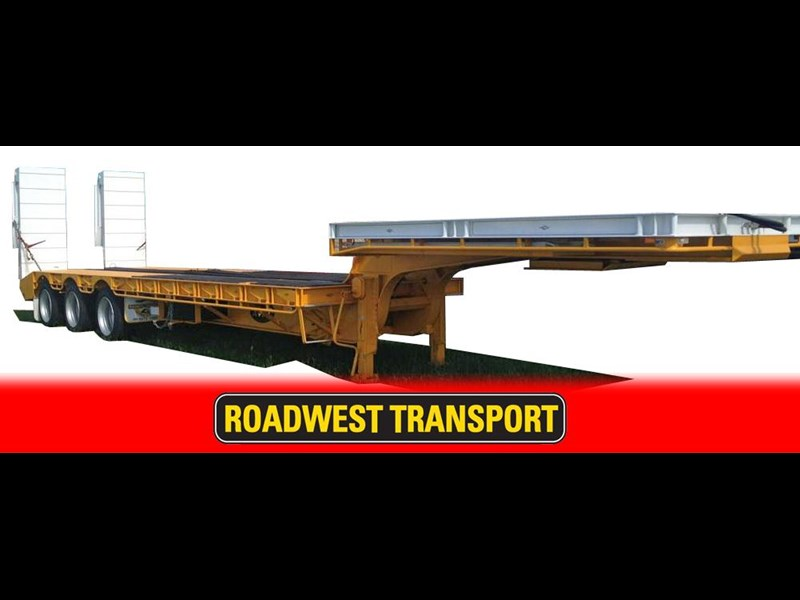 road west heavy duty drop deck with ramps, 284005 001