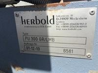 herbold pvc grinding system - pu 300 284312 003