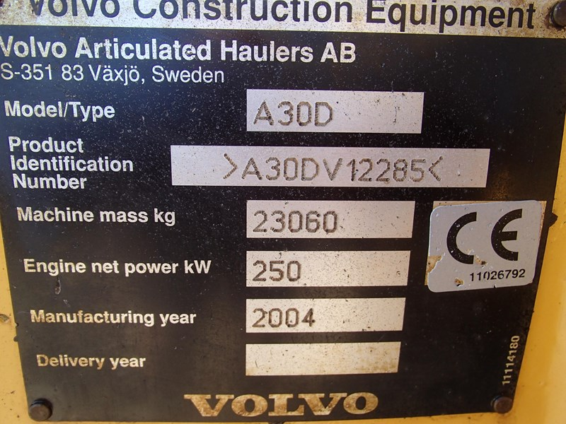 volvo a30d 284446 010