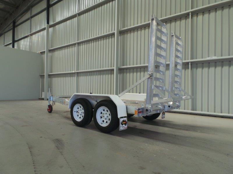 workmate alloy 3 tonne plant trailer 144147 005