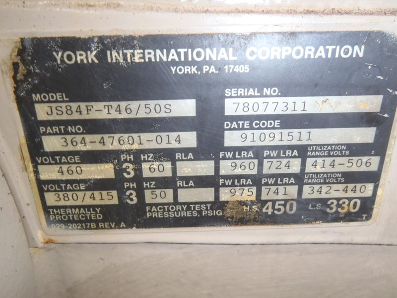 york air compressor x 2 285636 011