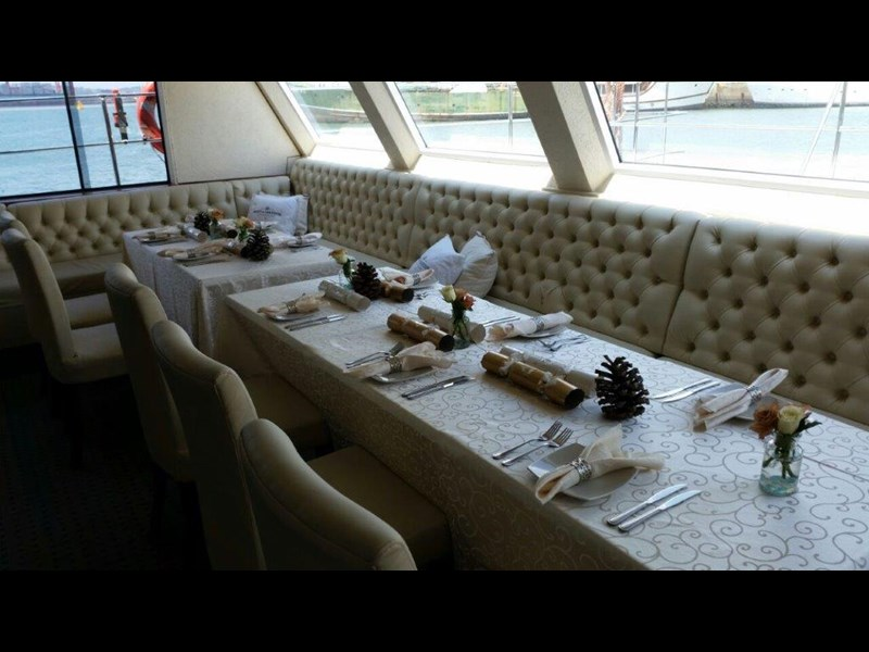 custom custom catamaran luxury 6 star 200 pax floating restaurant 289818 025