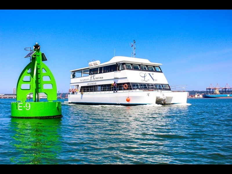 custom custom catamaran luxury 6 star 200 pax floating restaurant 289818 033