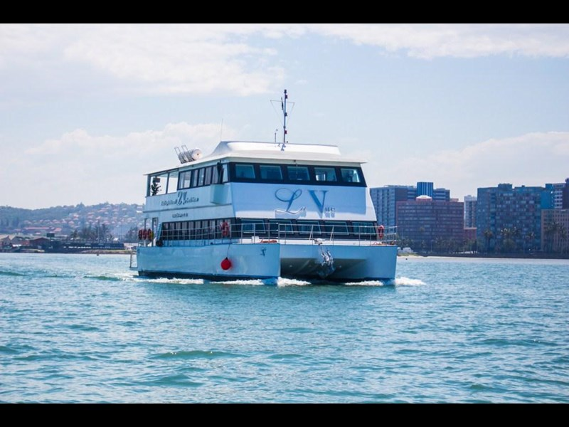 custom custom catamaran luxury 6 star 200 pax floating restaurant 289818 003