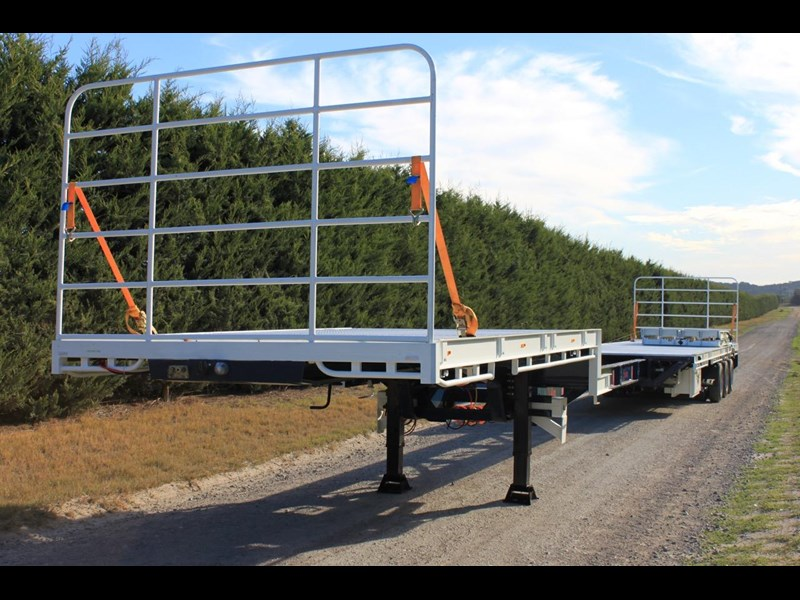 bullet extendable machinery trailer 292113 017