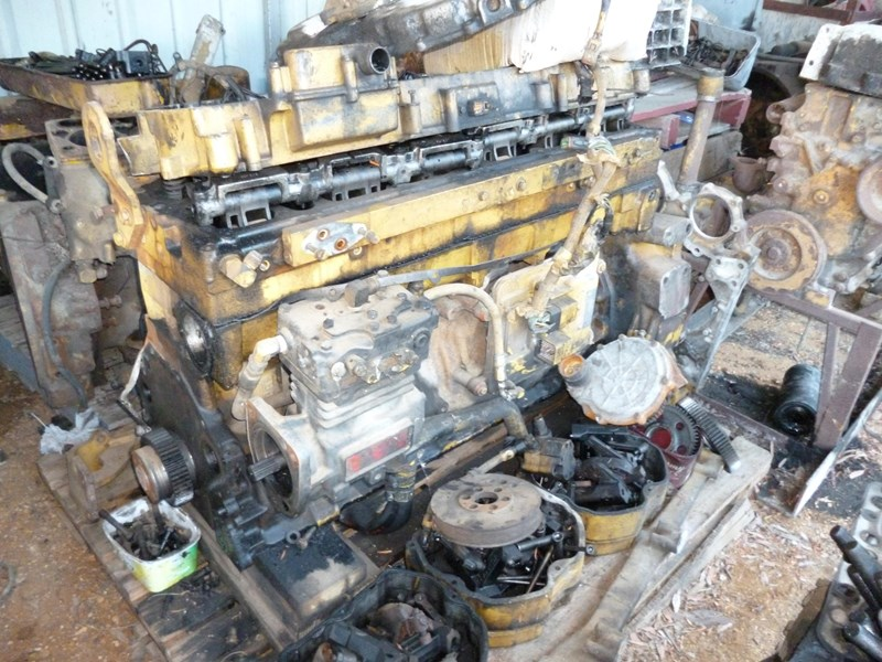 caterpillar 3176 dismantling for parts 291995 003
