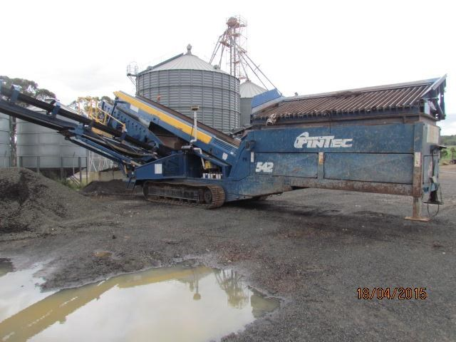 fintec 542 tracked screening plant 292898 003
