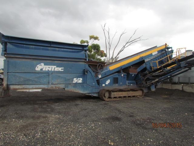 fintec 542 tracked screening plant 292898 001