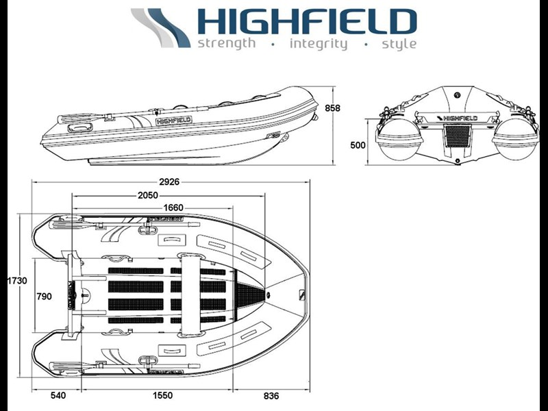 highfield 2.9m classic inflatable 295484 019