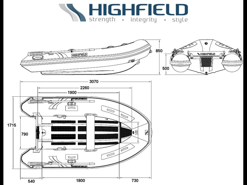 highfield 3.1m classic inflatable 295482 003