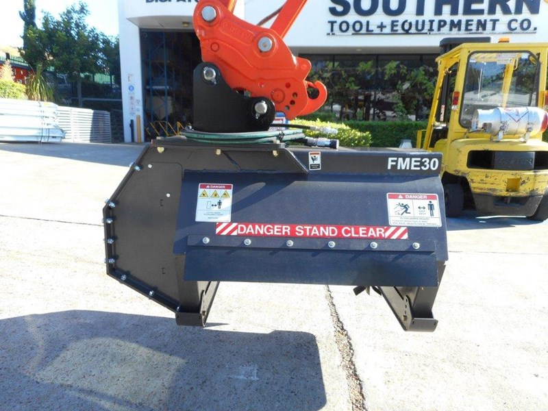 digga flail mower / mulchers attachment with 724mm cutting width [attslash][attmulch] 297222 009
