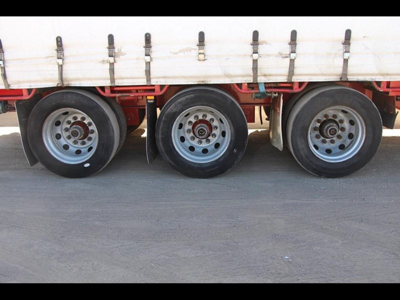 maxitrans 45ft refrigerated drop deck curtainsider semi trailer 298750 007