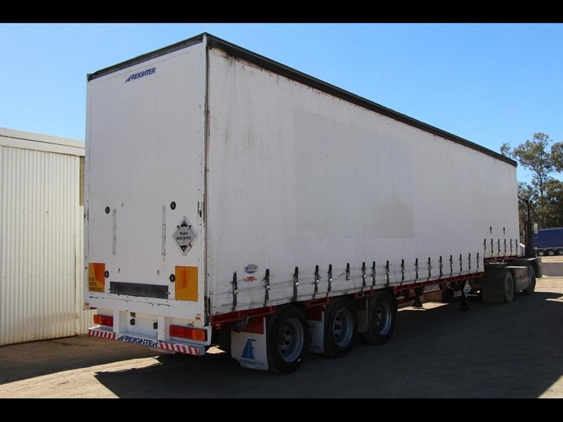 maxitrans 45ft refrigerated drop deck curtainsider semi trailer 298750 009