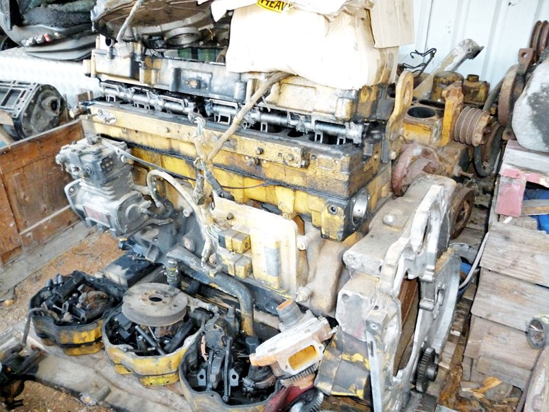 caterpillar 3176 dismantling for parts 291995 001
