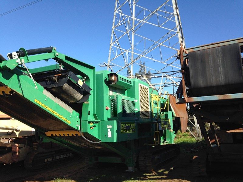 mccloskey j50t jaw crusher 301732 003