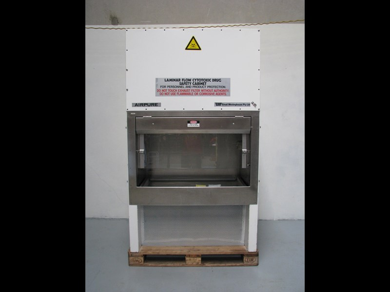 email westinghouse airpure biological safety cabinet class 2 302521 003