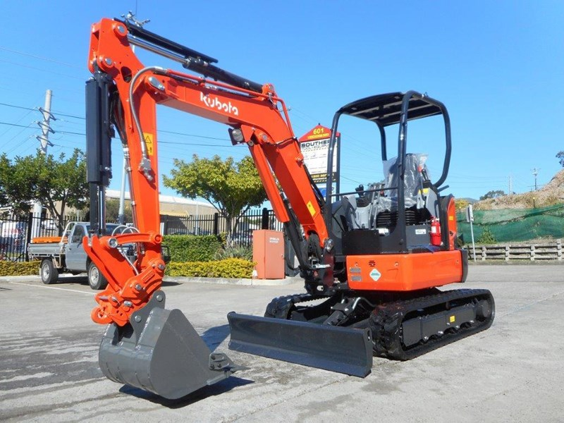 kubota new 3.2 ton compact excavator [unused] [machexc] 305977 001