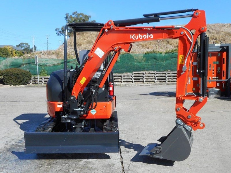 kubota unused 3.2 ton compact excavator [just arrived] [machexc] 305992 003