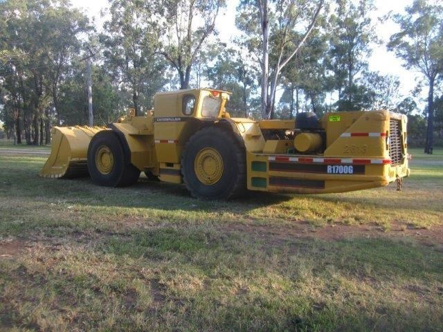 caterpillar 1700g loader 306252 001