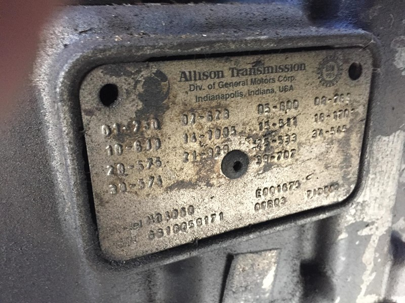 gearboxes allison world transmission 306780 005