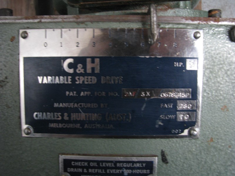 c&h 2hp variable speed drive electric motor 311306 007