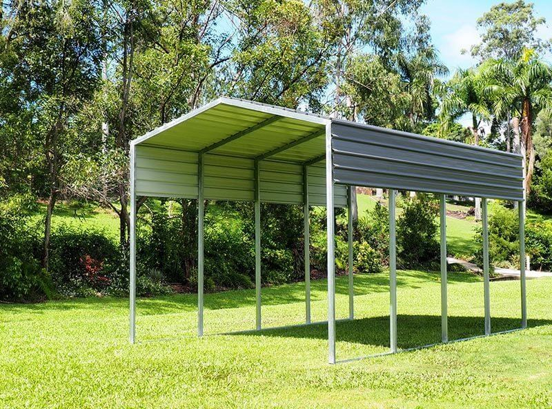 shedfast 3.7m x 6m shade shed 311265 005